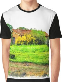 Rural building Graphic T-Shirt