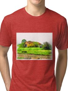 Rural building Tri-blend T-Shirt