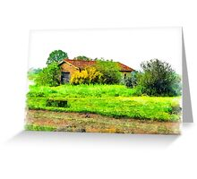 Rural building Greeting Card