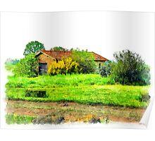 Rural building Poster