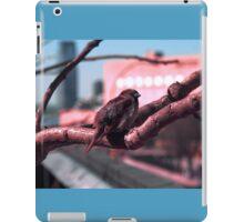 Sparrow on The High Line iPad Case/Skin