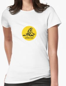 Sofala NSW ` the sticker Womens Fitted T-Shirt