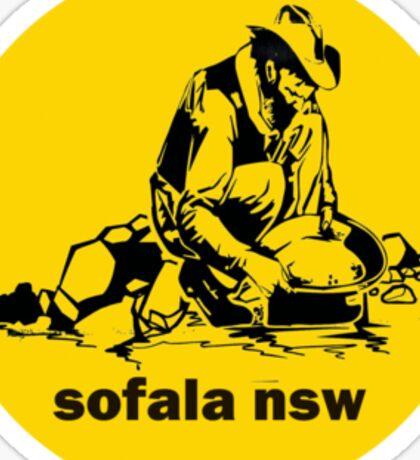 Sofala NSW ` the sticker Sticker