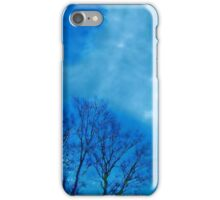 Air Brushed Trails in the Sky iPhone Case/Skin