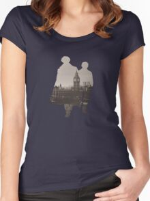 Sherlock Women's Fitted Scoop T-Shirt