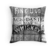 Jack Daniel - Vintage Wiskey Throw Pillow
