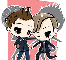 Peter Parker & Harry Osborn by Kara Thattanaham