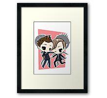 Peter Parker & Harry Osborn Framed Print