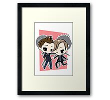 Peter Parker & Harry Osborn Framed Print