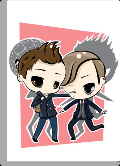 Peter Parker & Harry Osborn by JotunRunt