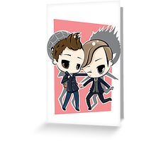 Peter Parker & Harry Osborn Greeting Card