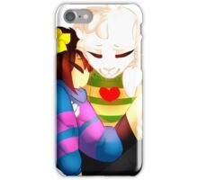 Undertale - Asriel and Human iPhone Case/Skin