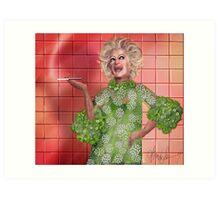 Ha!: Portrait of Phyllis Diller Art Print