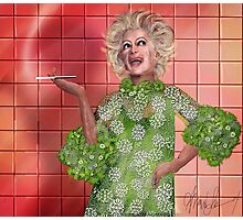 Ha!: Portrait of Phyllis Diller Photographic Print