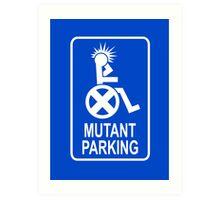 Mutant Parking Art Print