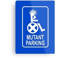 Mutant Parking Metal Print