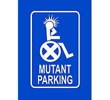 Mutant Parking Photographic Print