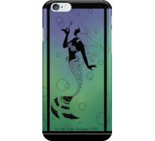 Silhouette Ariel iPhone Case/Skin
