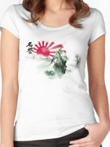 Way of the Samurai (2) Women's Fitted Scoop T-Shirt