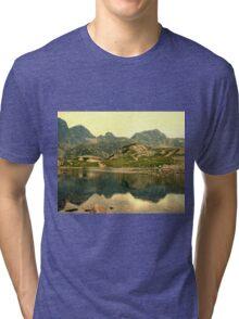 Mountain lake Tri-blend T-Shirt