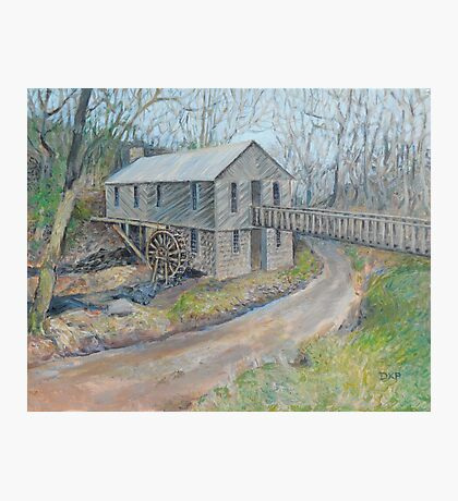 Historic Cohutta Springs Mill Photographic Print