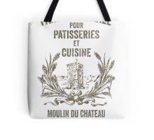 French Flour Sack Illustration Tote Bag