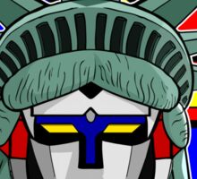 Voltron Liberty Sticker