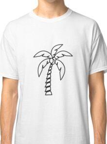 Palm tree coconut Classic T-Shirt