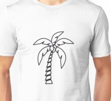 Palm tree coconut Unisex T-Shirt