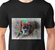 Boxer Dreaming Of Christmas Cookies Unisex T-Shirt
