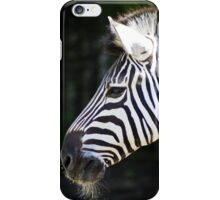 Zebra Face iPhone Case/Skin