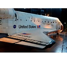 Space Shuttle Photographic Print