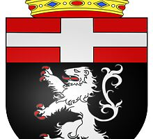 Coat of Arms of City of Aosta by abbeyz71
