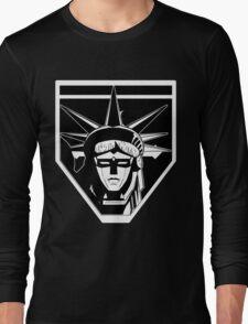 Voltron Liberty (b/w) Long Sleeve T-Shirt