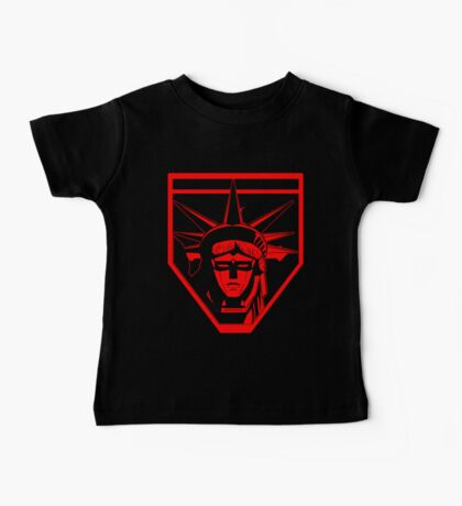 Voltron Liberty (red) Baby Tee