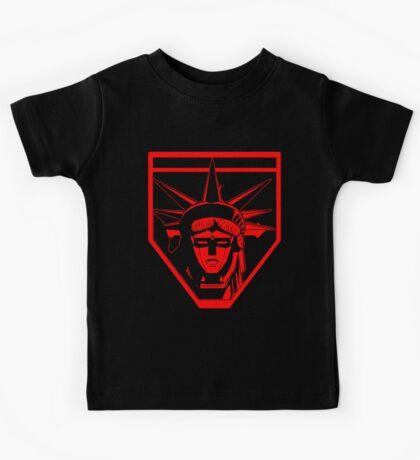 Voltron Liberty (red) Kids Tee