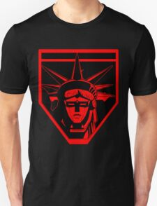 Voltron Liberty (red) Unisex T-Shirt