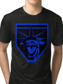 Voltron Liberty (blue) Tri-blend T-Shirt