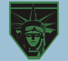 Voltron Liberty (green) Kids Tee
