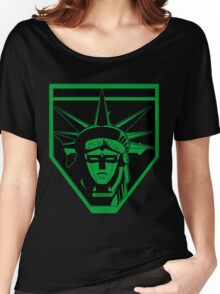 Voltron Liberty (green) Women's Relaxed Fit T-Shirt