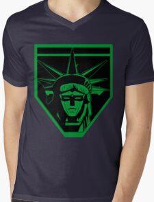 Voltron Liberty (green) Mens V-Neck T-Shirt