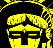 Voltron Liberty (yellow) Sticker