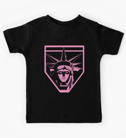 Voltron Liberty (pink) Kids Tee