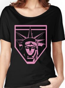 Voltron Liberty (pink) Women's Relaxed Fit T-Shirt