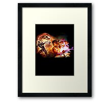 Fighting Games Collide Framed Print