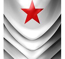 Winter Soldier Arm iPhone 5 Cases  by Christina De Ville