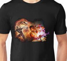 Fighting Games Collide Unisex T-Shirt