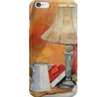 Golden Lamp I (Still Life) iPhone Case/Skin