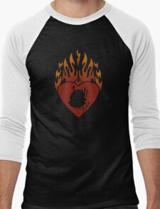 Calcifer Lord of Light Men's Baseball ¾ T-Shirt