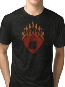 Calcifer Lord of Light Tri-blend T-Shirt